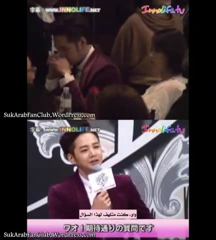 Jang Keun Suk at Pretty Man's press conference [Arabic_ Sub].avi_000110310
